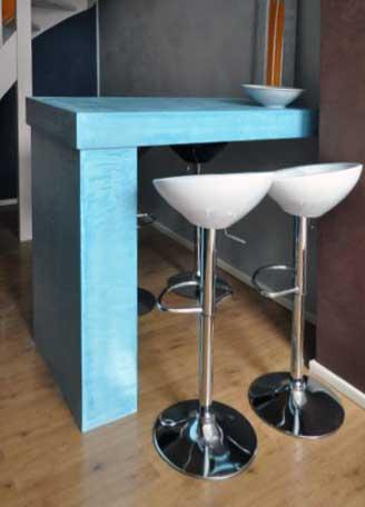 Betonlook meubels tafel kleur Cofurn Grave