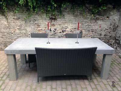 Betonlook meubels tuinmeubels Cofurn Grave